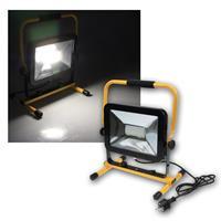 Baustrahler 50W LED mit Ständer IP44 3700lm 230V