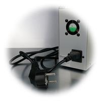 LCD-Anzeige für Strom und Spannung, Anschluss 230V