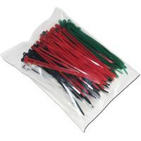 200er Pack an farbigen Kabelbindern für viele Anwendungen