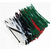 Kabelbinder in 4 Farben, für sicheren Halt von Kabeln und Co.