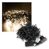 Außenlichterkette Mini-Cluster 432 LED warmweiß