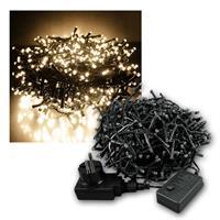 Außenlichterkette Mini-Cluster 720 LED warmweiß