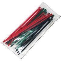 50er Pack an farbigen Kabelbindern für viele Anwendungen