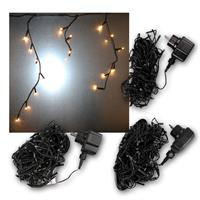Ice rain light chain | warm white | outdoor | 90/140/180LEDs