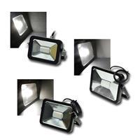 LED Fluter SLIMLINE | 10/30/50W | Alu | 12/24V | für außen