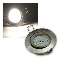 LED Einbaustrahler | Flat-32 | Edelstahl | daylight | 490lm