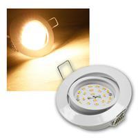 LED Einbaustrahler | Flat-32 | weiß | warmweiß | 470lm | 5W