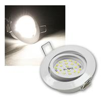 LED Einbaustrahler | Flat-32 | daylight | 490lm | weiß | 5W