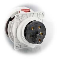 Starkstromsteckdose für Stromleitungen mit 240V oder 415V