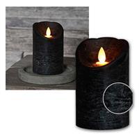 Dekorativ und nahezu täuschend echt: die LED-Kerze mit Flackereffekt und Timer