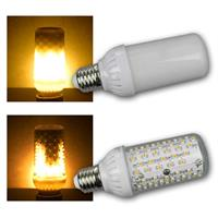 E27 LED bulb flame | 230V/4W | clear/opal | 465lm | indoor