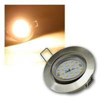 LED Einbaustrahler | Flat-32dim | Edelstahl | dimmbar | 5W