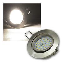 LED Einbaustrahler | Flat-32dim | Edelstahl | daylight | 5W