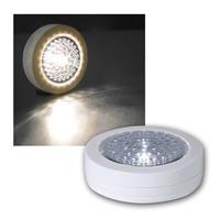 LED Touchleuchte weiß, 3er Set, warmweiß 5lm