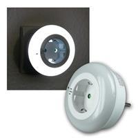 LED Nachtlicht mit Zwischenstecker, Dämmerungssens