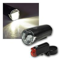 Bicycle LED lighting set CFL 30, 30Lux