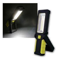 LED Inspektionslampe mit Haken & Magnet, 220lm