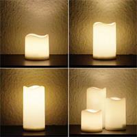 LED Kerze für Außenbereich mit Timerfunktion