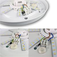 LED Deckenleuchte Acronica für außen geeignet in 2 Leuchtfarben