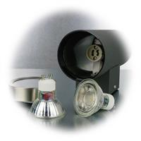 LED Außenleuchte für 2 Leuchtmittel mit Sockel GU10