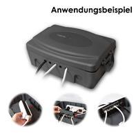 Schutzbox mit 5 Kabeldurchführungen mit Dichtungen