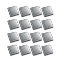 DELPHI Set of 16 sockets silver 250V ~ / 10A