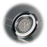 12V MR11 LED Leuchtmittel wird via Sprengring befestigt