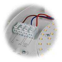 LED Deckenleuchte Caldeira in 2 Leuchtfarben mit 16W Leistung
