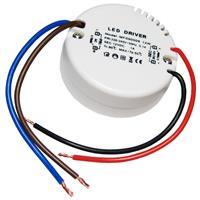 12W LED Transformator RUND, max. 1A 12V DC, Trafo