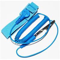 Erdungsarmband mit elastischen Armband und Kabel mit Krokodilklemme