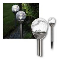 Solar LED Leuchte ROMA | 2er Set | Outdoor