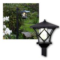 Solar LED Laterne MILAN | Höhe 25-140 cm | Outdoor