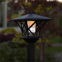 Solar LED Gartenleuchte mit integrierten Tag- /Nachtsensor
