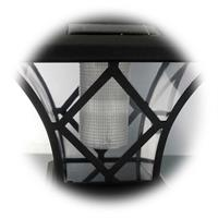 LED Dekolicht für den Außenbereich mit Solarpanels