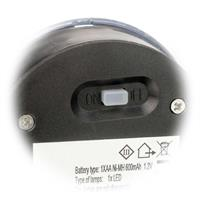 LED-Fackel Toulon mit integriertem Tag- /Nachtsensor