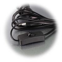 Kabel für E14 Leuchtmittel mit Schnurschalter