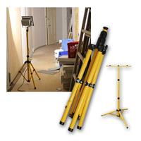 Tripod for 1/2/3 LED floodlight | extendable up to 1.45m