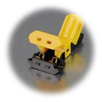 zeitsparende Klemmverbindung zum Abzweigen von Stromleitungen