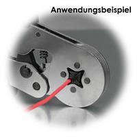 Werkzeug zum crimpen für Aderendhülsen für formschlüssige Verbindungen
