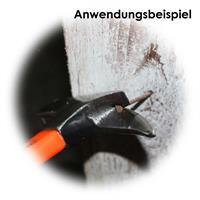 Zimmermannshammer zum Entfernen von Nägeln