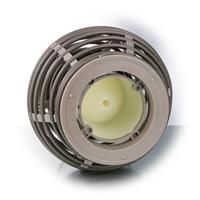 LED Dekoleuchte mit Kerze aus Kunststoff