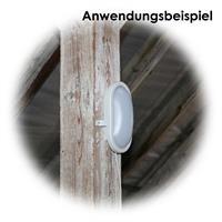 LED Deckenleuchte ideal für feuchte, nasse und staubige Räume