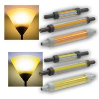 LED-Leuchtmittel R7s SLIM | 5/9/10W | warm-/neutralweiß