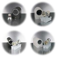 LED Wandbeleuchtung für einen oder zwei GU10 Strahler