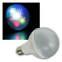 LED party bulb E27 | 230V/1.5W | 7x RGB LEDs