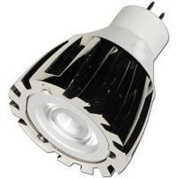 LED Leuchte MR11 mit 1W Edison Highpower LED-Chip im verchromten Metallgehäuse