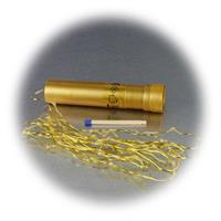 SMD LEDs im Abstand von 5cm auf dünnen Draht