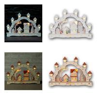 LED arches BURGHAUSEN | white/nature | battery/230V | wood