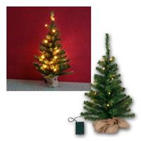 LED Tannenbaum Toppy | 60cm/20 LEDs | Batterie & Timer