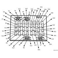 LED-Konstantstrom-Regelung mit 32 Infrarot-LED, Spannung: 12-14V/DC